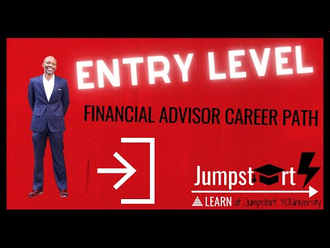 Entry Level Financial Advisor Career Path   How To Become A Financial Advisor