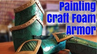 Painting Craft Foam Armor Part 2