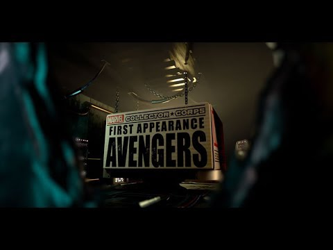 Marvel Collector Corps: First Appearance Avengers Box Trailer!