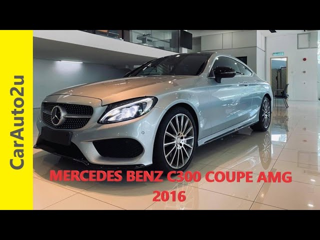 2016 MERCEDES BENZ C300 COUPE AMG RM227,000