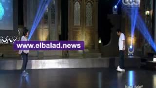 إسعاد يونس تواجه خيري رمضان في ضربات الجزاء.. فيديو