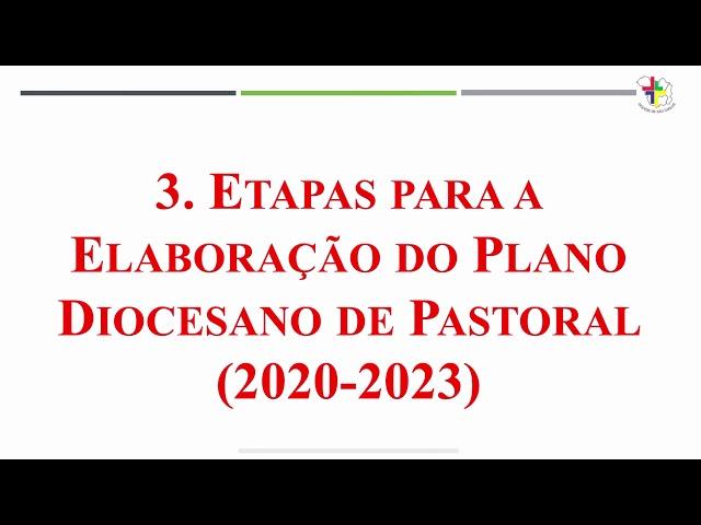 Plano Diocesano de Pastoral  -  Vídeo 1