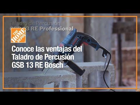 Conoce las ventajas del Taladro de Percusión GSB 13 RE Bosch | Herramientas | The Home Depot Mx