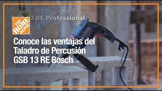 Descubre las ventajas del Taladro de Percusión GSB 13 RE Bosch