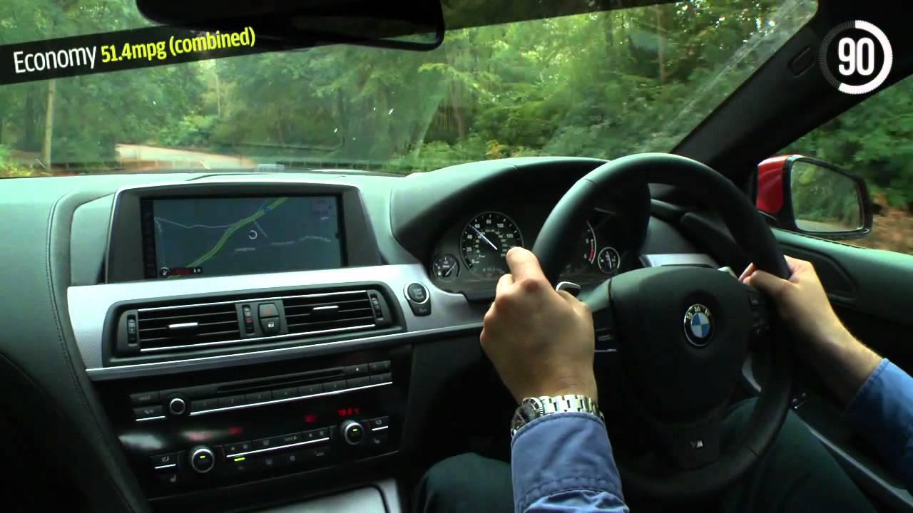 BMW 640d Coupe video review 90sec verdict by autocarcouk  YouTube