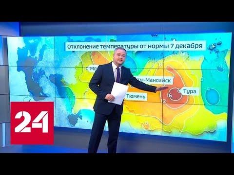 """""""Погода 24"""": на большей части России начались оттепели - Россия 24"""