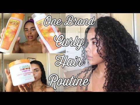 CANTU Curly Hair Routine 2018