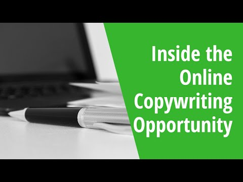 Inside the Online Copywriting Opportunity