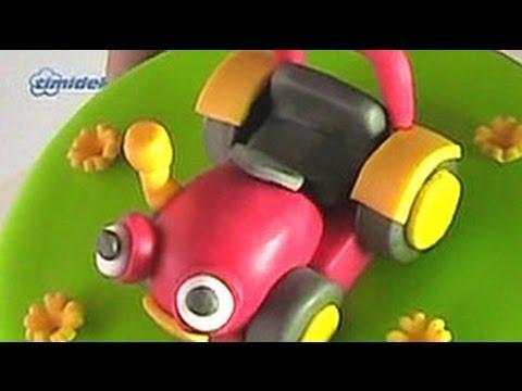 tractor tom fondant cake dort s figurkou traktor tom