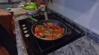 Ахиако. Чилийская кухня.