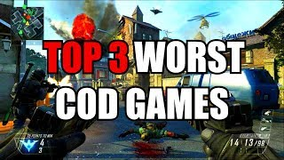 TOP 3 Worst CALL OF DUTY Games Ever ✔️ FIND OUT NEEXT!