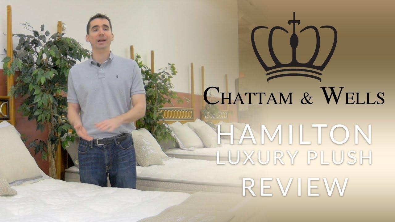 Chattam Wells Hamilton Luxury Plush Mattress Review Youtube