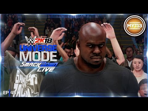 WWE 2K18 - Universe Mode - SmackDown - Ep 45 - Crowning Moment