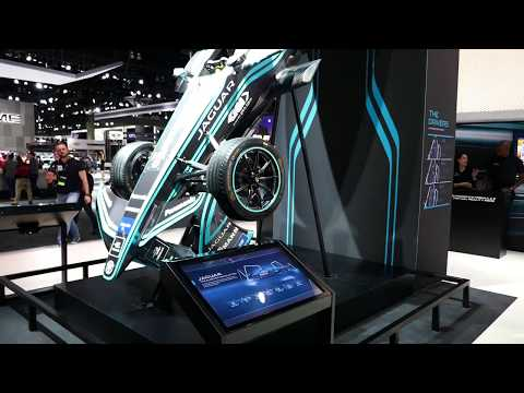 Jaguar Formula E Electric Race Car - 2017 LA Auto Show, Los Angeles, CA