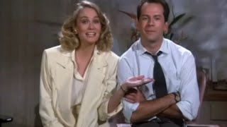 Moonlighting: Season two cold open and theme song. (September 24, 1985)
