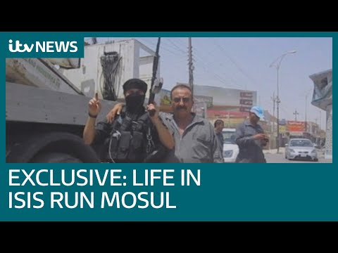 Exclusive video: Life inside Islamic State controlled Mosul | ITV News