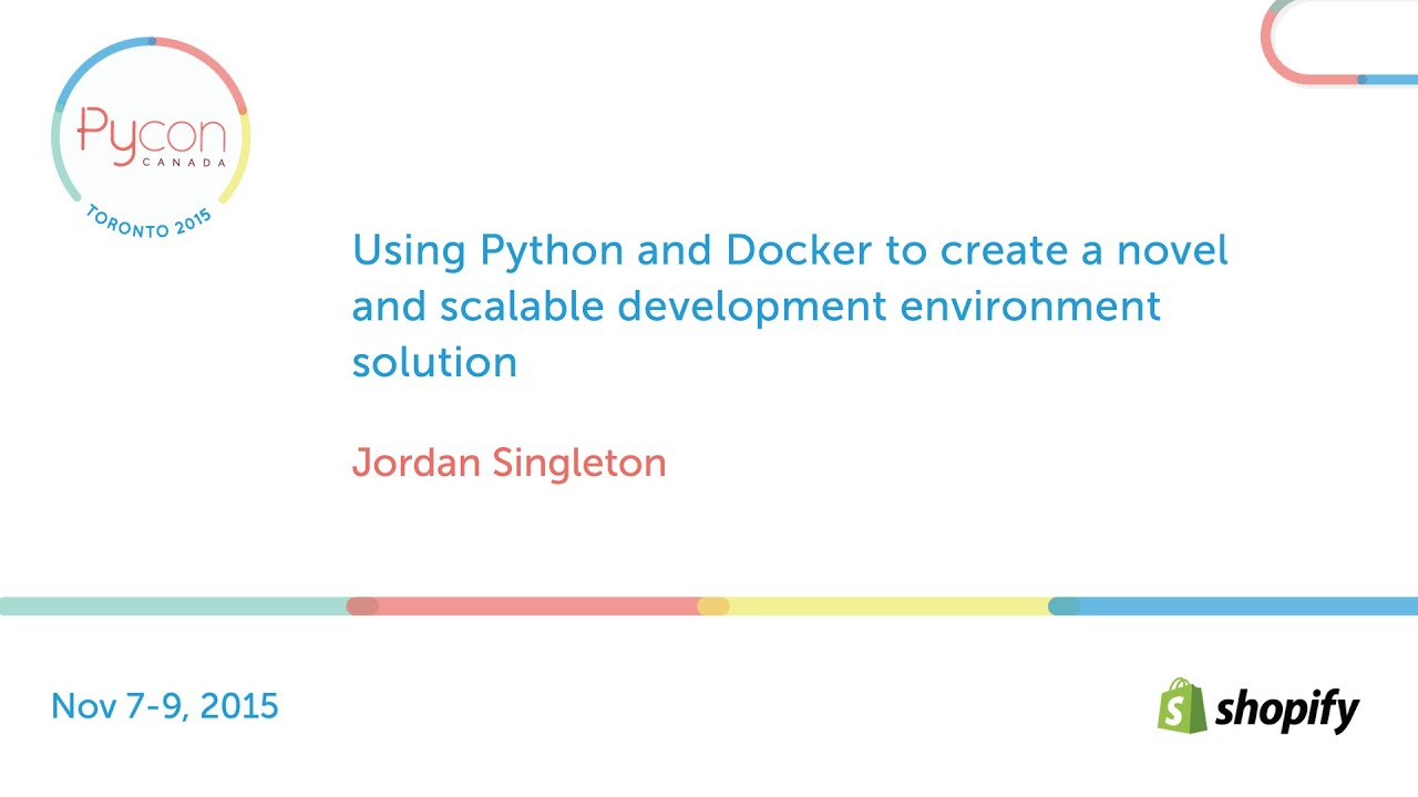 Image from Using Python and Docker to create a novel and scalable development environment solution