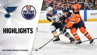 NHL Highlights | Blues @ Oilers 11/06/19
