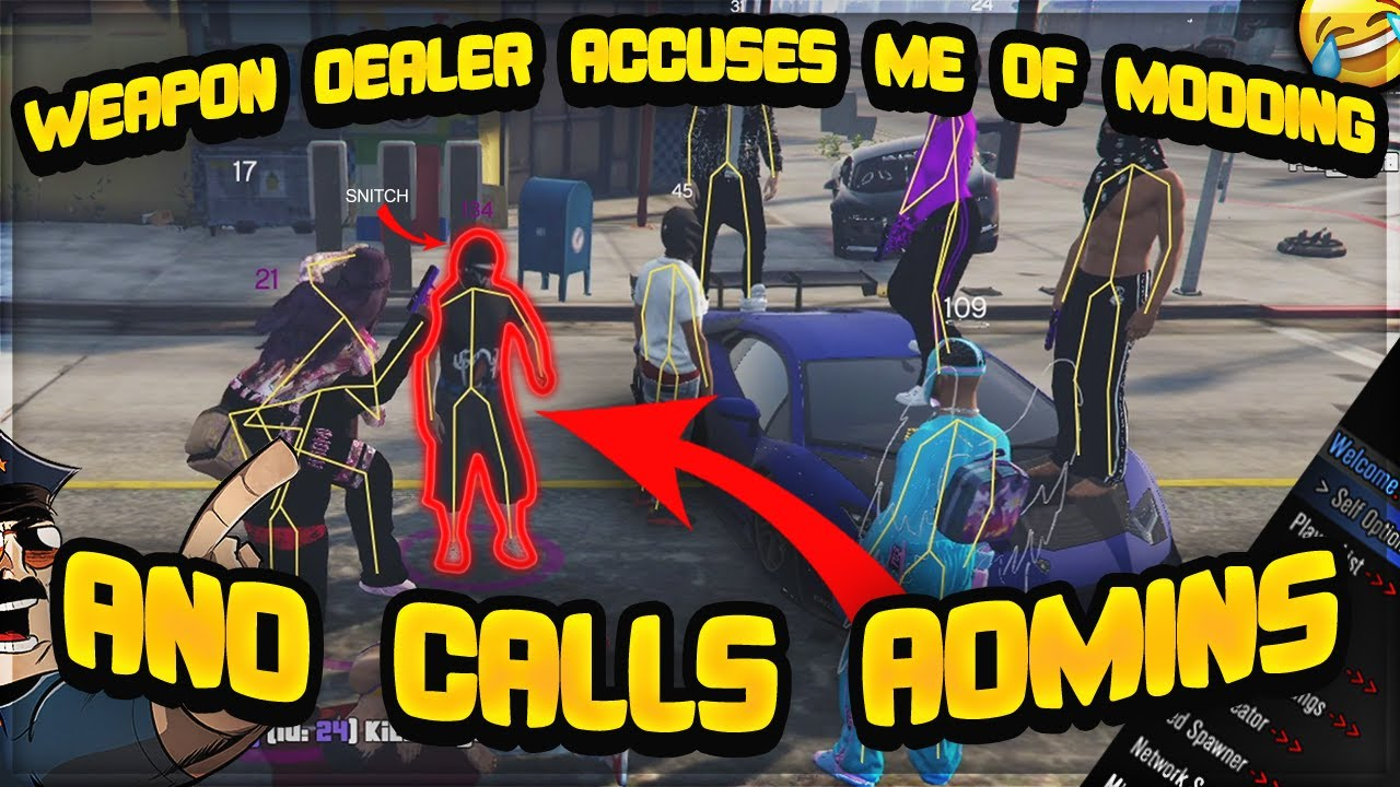 Download WEAPON DEALER ACCUSES ME OF MODDING AND CALLS ADMINS (GTA 5 RP)