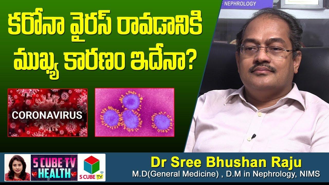 కరోనా వైరస్ రావడానికి ముఖ్య కారణం ఇదేనా ? | Main Cause Of Corona Virus | Dr Sree Bhushan Raju