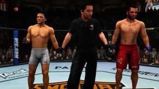 CLASSIC UFC undisputed 2009 ground and pound!!!!!!