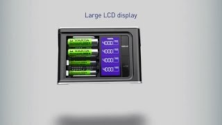 LCD Ultra Fast Charger | High end charger for fast and precise charging | VARTA