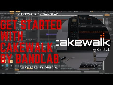 Get started with Cakewalk by BandLab