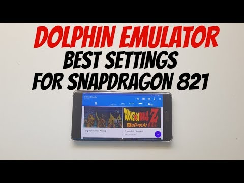 Dolphin settings for Adreno 530 smartphones/Snapdragon 821 Android 6/emulator - 동영상