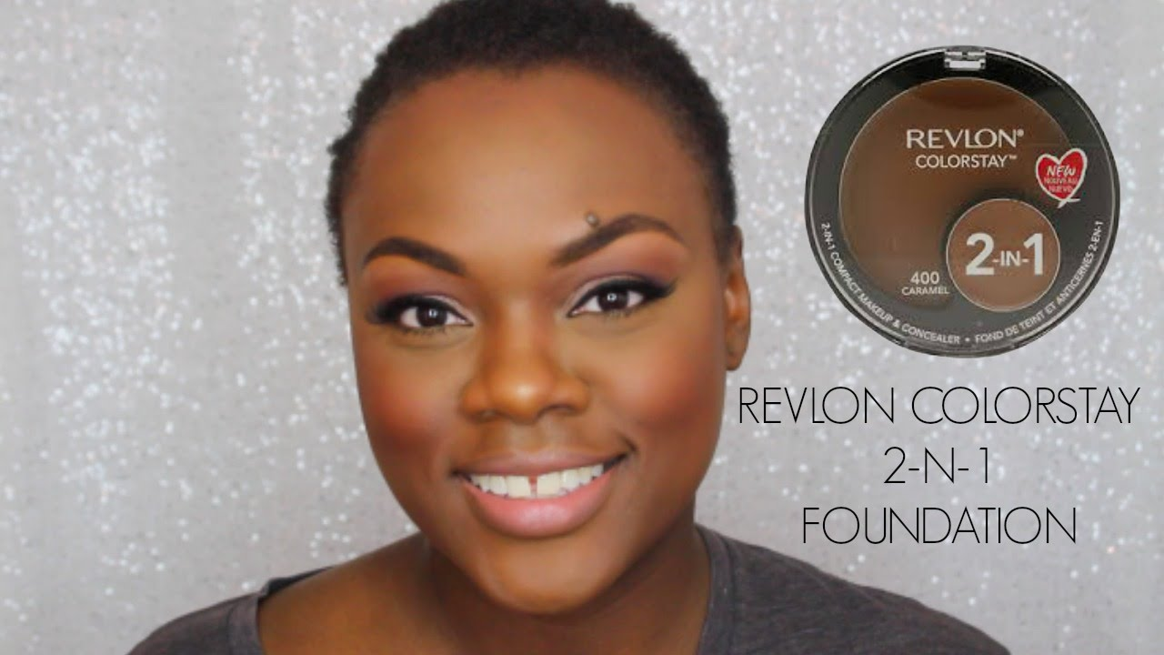 FIRST IMPRESSION | Revlon Color Stay 2-N-1 Foundation - YouTube