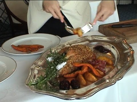 Déjeuner à l'Hôtel du Palais - 8 septembre 2003