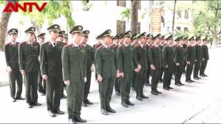 sinh viên học viện an ninh nhân dân tập điều lệnh 2017