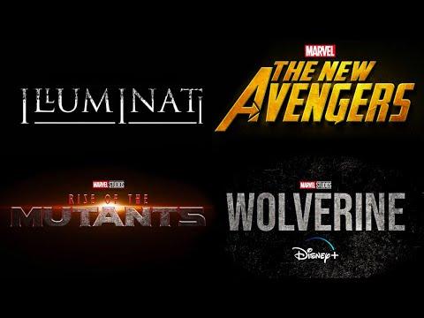 New SECRET MARVEL Phase 5 Projects Coming SOON! Illuminati, New Avengers, Wolverine