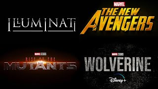 New SECRET MARVEL Phase 5 Projects Coming SOON! Illuminati, New Avengers, Wolverine