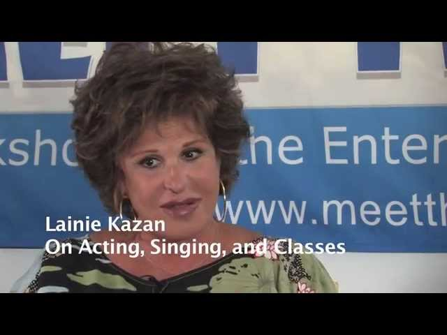 Meet The Biz - Lainie Kazan:  On Acting Singing and Classes