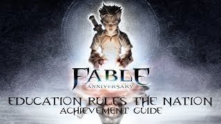 Fable Anniversary - Education Rules The Nation Achievement Guide - Book Locations