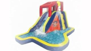 Banzai Splash Blast Water Slide