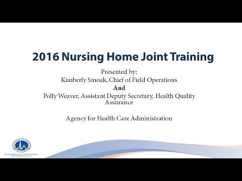 AHCA Nursing Home Joint Training 03 29 16