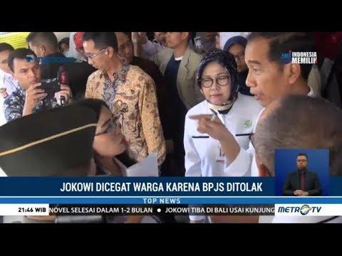 Jokowi Dicegat Pasien BPJS RS Hasan Sadikin Bandung