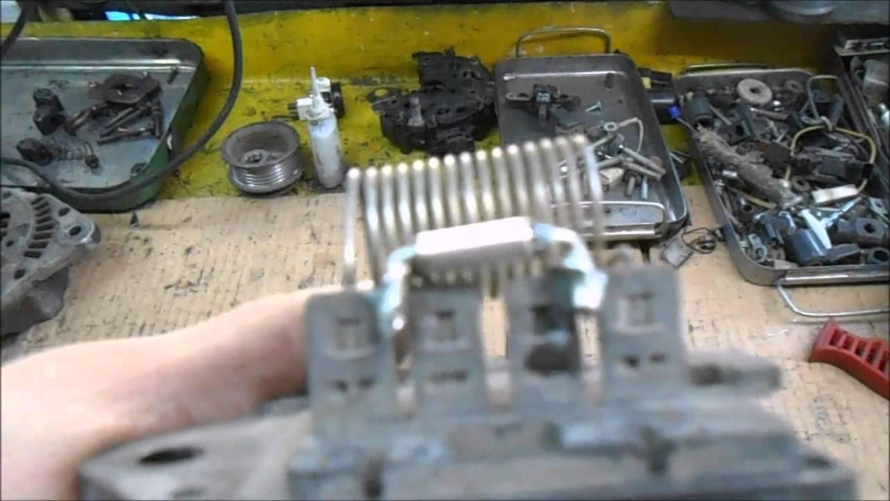 ситроен с4 электросхема вентилятора охлаждения