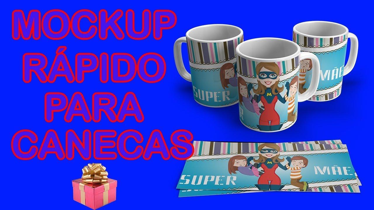 mockup of two white ceramic coffee mug. Como Fazer Mockup De Canecas Mais Bonus Gratuito Youtube
