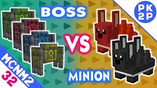 Minions mais Fortes, Boss Four Guardian e RPG (Bazuca)  • Minecraft Nevermine 2 #32