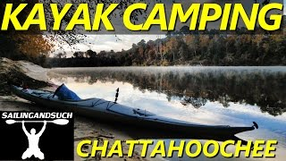 kayak camping the chattahoochee river with friends