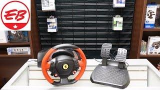 Thrustmaster Ferrari 458 Spider Racing Wheel Unboxing   EB Unboxes