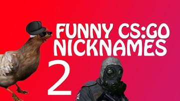Funny CS:GO Nicknames 2