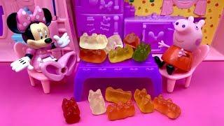 Myszka Minnie i Świnka Peppa po Polsku  Bajka i Zabawki dla dzieci