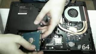 замена жесткого диска ноутбука DEXP W650SF