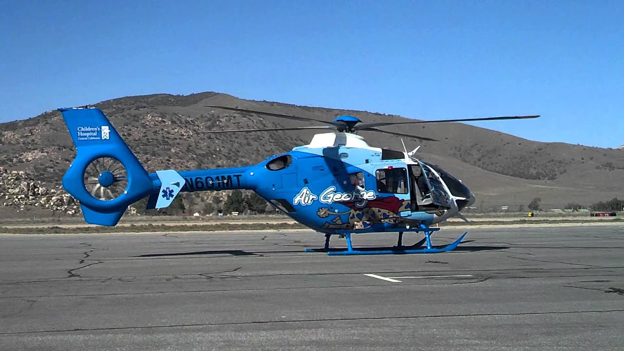 Children's hospital helicopter - YouTube