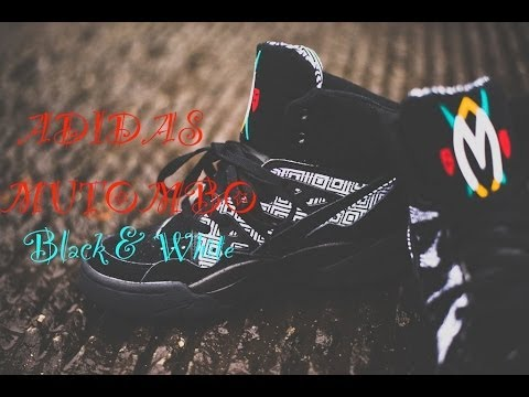 lowest price 675c6 f8b64 Adidas Mutombo  Black   White  Review