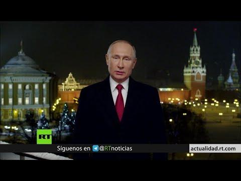 Vladímir Putin celebra la llegada del 2019 con un mensaje al pueblo ruso