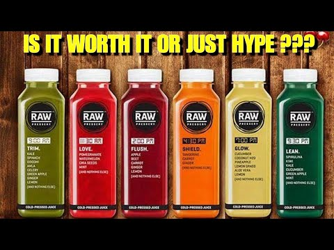 """Raw Pressery : Review   How Healthy is The Famous """"Fresh Juice"""" Brand ???"""